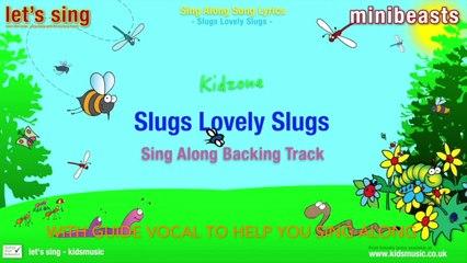 Kidzone - Slugs Lovely Slugs (Sing Along Backing Track)