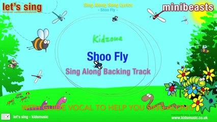 Kidzone - Shoo Fly (Sing Along Backing Track)