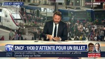 SNCF : record d'attente aux guichets