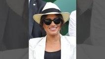 Meghan Markle soutient Serena Williams à Wimbledon