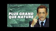 """Sarkozy avant l'escalier pour """"Paris Match"""", d'autres subterfuges pour le grandir"""