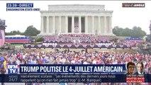 Trump s'est-il approprié le 4 juillet ?
