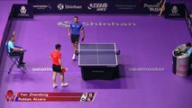Fan Zhendong vs Alvaro Robles | 2019 ITTF Korea Open Highlights (R16)