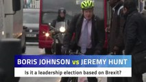 Boris Johnson Jeremy Hunt Brexit Hustings
