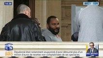Le polémiste Dieudonné condamné à trois ans de prison, dont un avec sursis