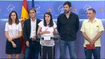 """Irene Montero a Sánchez: """"Aquí estamos, todas en Unidas Podemos somos independientes"""""""