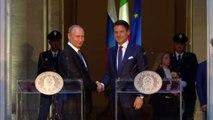 Putin a Roma, il premier Conte ribadisce intesa, no alle sanzioni
