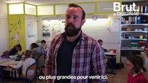 """""""C'est que du bonheur ici"""", le quotidien de Timothée, directeur de la seule école de Ouessant"""
