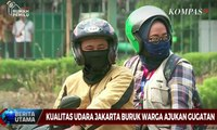 Kualitas Udara Jakarta Buruk, Warga Ajukan Gugatan
