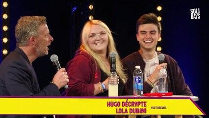 Lola Dubini et Hugo Décrypte - Quand les Youtubeurs s'engagent - Social Club 2019