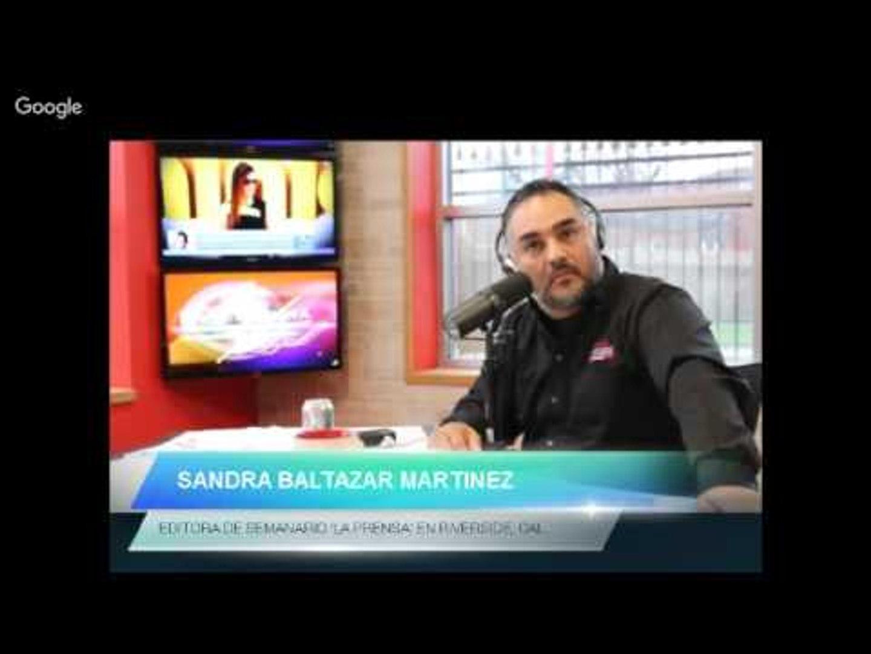 En Sin Censura Sandra Baltazar de 'La Prensa' 12 03 15