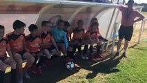 Tournoi du Sporting: les petits supporters (2)