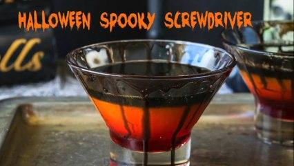 Halloween spooky screwdriver