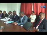 RTG - Rencontre entre le Ministre de la promotion de la bonne gouvernance, et le représentant de l'Unicef au Gabon