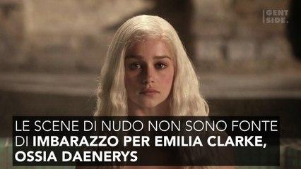 La dichiarazione sorprendente di Emilia Clarke sulle scene hot di Game of Thrones 3708
