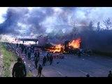 Arde Troya por un partido de futbol, pero nadie dice nada porque arde #Nochixtlán