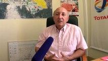 George Fauque de Total La Mède promet un retour à la normale de la torche