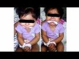 Rescatan a bebé de 9 meses amordazada por su niñera