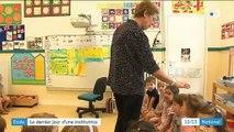 Gironde : le dernier jour d'école d'une institutrice