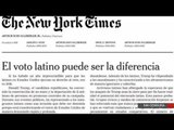 The New York Times publica su primer editorial en español