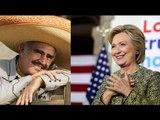 Vicente Fernández vuelve del retiro para apoyar a Hillary Clinton