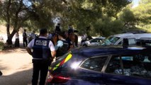 Cassis : la Garde Républicaine veille sur les touristes et les maisons