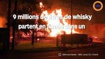 9 millions de litre de whisky brûlent dans un incendie