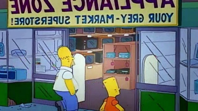 The Simpsons Season 7 Episode 14 Scenes from the Class Struggle in Springfield