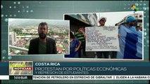 Sector salud de Costa Rica se suma a protestas por política económica