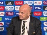 """CdM (F) - Infantino : """"La meilleure Coupe du Monde féminine de l'histoire"""""""
