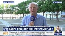 """Édouard Philippe candidat à Paris ? """"Il pourrait rassembler un grand nombre de suffrages"""", répond Antoine Rufenacht, l'ancien maire du Havre"""