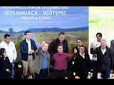 Porque hay de presidentes a presidentes: Eruviel Ávila casi le 'besa la mano' a EPN en último evento