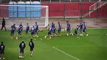 Argentina train ahead of Copa America 3rd place play-off against Chile