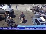 ICE con rifles semiautomáticos arresta a inmigrantes latinos