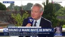 """Bruno Le Maire sur le bac: """"Jean-Michel Blanquer a fait preuve de sens des responsabilités"""""""