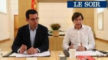 PS et Ecolo présentent leur proposition de programme