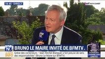 """Bruno Le Maire: """"Je ne suis pas candidat à la direction générale du FMI"""""""