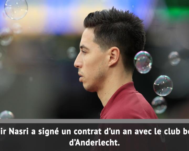 Anderlecht - Nasri va retrouver Kompany