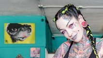 Modified Mom Tattoos Eyeballs Pink | HOOKED ON THE LOOK