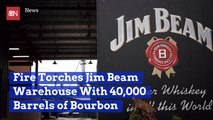 Whiskey Turns To Ash At This Jim Beam Factory