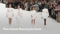 The Chanel Runway In Paris