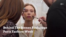 What Goes On Backstage At Paris Fashion Week