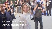 Celine Dion Rocks Paris Fashion Week