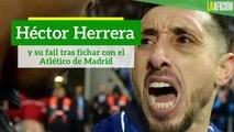 Héctor Herrera y su fail tras fichar con el Atlético de Madrid