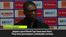 (Subtitled) Seedorf promises Cameroon will respect Nigeria ahead of their AFCON match