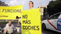 El juez suspende la moratoria de multas de Madrid Central