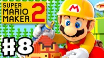 Super Mario Maker 2 - Gameplay Walkthrough Part 8 - Vines, Plants, and Tubes! (Nintendo Switch)