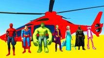 Dessin Animé pour Enfant avec Motos et Hélicoptères - Drôle Comptines Bébé