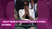 PHOTOS. Meghan Markle à Wimbledon : la nouvelle bourde vestime...