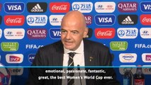 This has been the best Women's World Cup of all time - Infantino